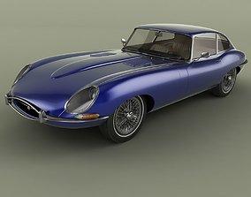 3D model Jaguar E-Type Coupe 2plus2