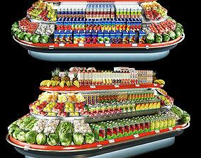 3D model Refrigerated Bonnetneve Loggia long
