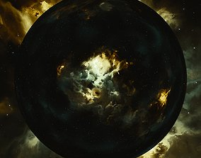 3D Nebula Space Environment HDRI Map 025