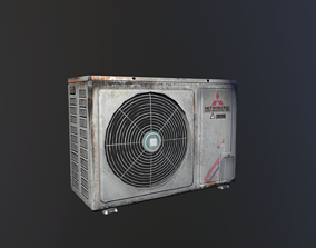 Air Conditioning props 3D