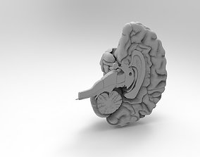 3D print model Human brain body