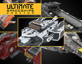 3D asset Ultimate Spaceships Creator