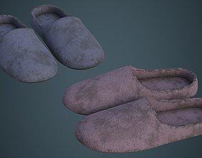 3D asset Slipper 1B