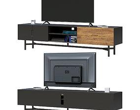 TV stand LORA 3D model