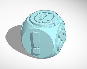 3D printable model Emoji Die