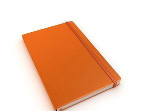 Moleskine notebook 3D model