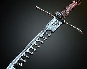 Swordbreaker 3D model realtime