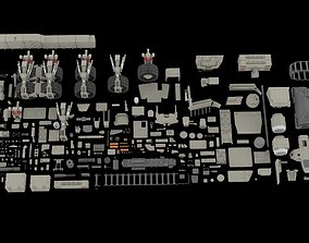 3D model Mechanics collection 2 Kitbash