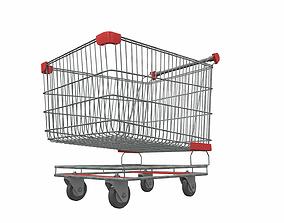 Shopping cart 1 3D model