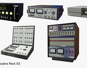 3D model Retro Computers Pack 03