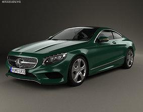 Mercedes-Benz S-Class C217 coupe 2014 3D model