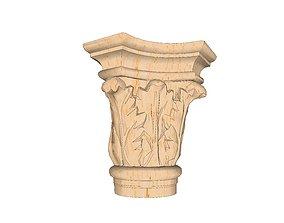 stone capital 3D asset
