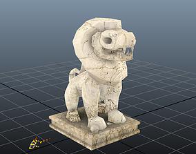 3D model Foo Dog Statue