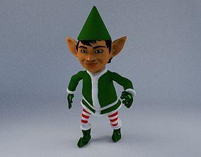 Elf 3d blender rigged rigged