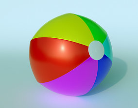 3D model Beach Ball Inflatable Toy