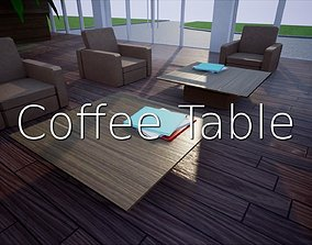 3D model Coffee Table SHC Quick Office LM
