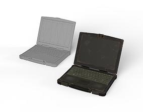 Military Laptop Computer 3D asset