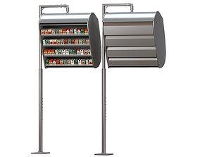 3D model Cigarette Dispenser