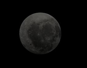 3d Moon Model realtime