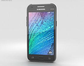 3D model Samsung Galaxy J1 Black