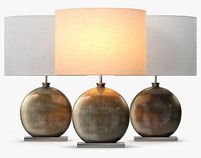 3D Heathfield and Co Valencia Table LAmp