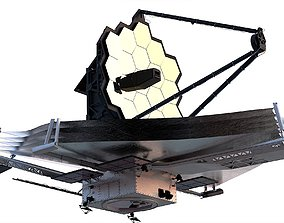3D Jamesweb Space Telescope