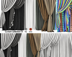 3D model Curtain collection 11