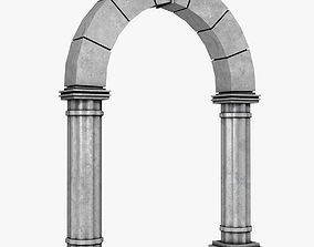 3D asset Stone Archway
