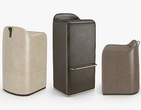 Skram Furniture - Saddle stool 3D model