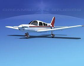 Piper PA-28 V17 3D model