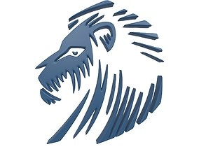 Lion Emblem v3 004 3D model