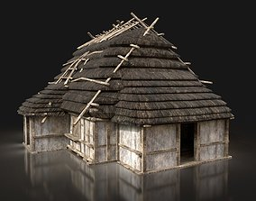 3D model Next Gen AAA THATCHED FANTASY MEDIEVAL WOODEN 2