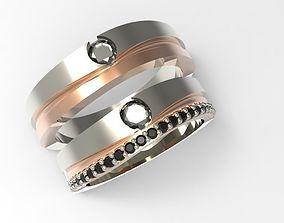 3D print model wedding ring love