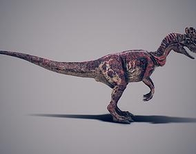 Dilophosaurus 3D model rigged
