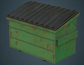 Dumpster 3C 3D asset