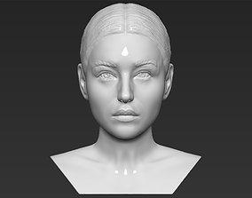 Monica Bellucci bust 3D printing ready stl obj formats