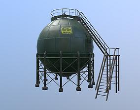 Storage tank 3D asset