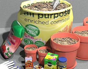 Garden Potting Mix 3D model