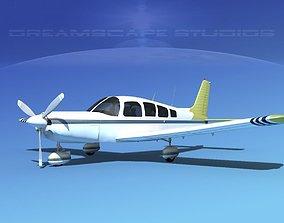 3D Piper Cherokee Six 260 V08