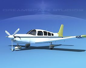 3D Piper Cherokee Six 260 V08