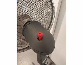 Ventilator Fan cooling Pin replacement 3D printable model