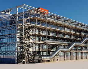 Pompidou Center 3D