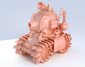 Metal Slug tank 3D printable model