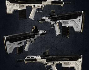 M4 2016 military guns 3D model