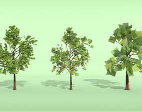 Leafy Tree LOD Pack 3D model