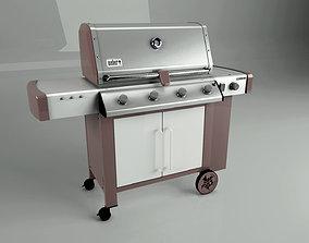 weber BBQ Genesis 2 Weber 3D Model