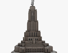 3D asset Palace of Soviets