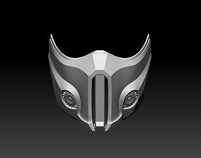 3D printable model Sub Zero mask for cosplay Mortal 5