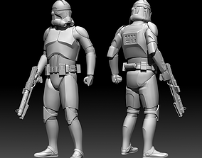 Clone Trooper Phase 2 Statue 3D print model