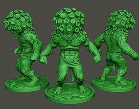 Humanoid virus 0012 3D print model